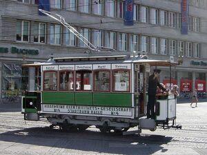 Halle ad Saale Strassenbahn