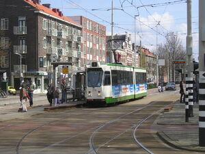 Nabij Oostplein met ZGT 728