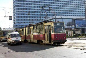Tram St Petersburg