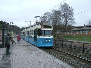 Kortedala Torg lijn7 M31