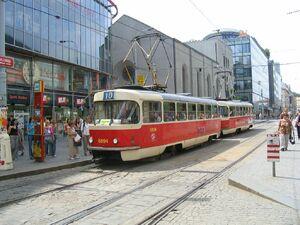 Plzeňská lijn10 T3