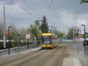 Rauensteinstraße lijn1 NGT6DD