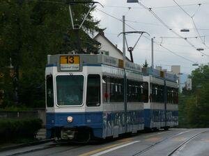 Wartau lijn13 Tram2000