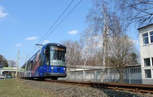 Industriepark Klotzsche lijn7 NGTD12DD