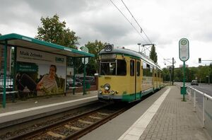 Rüdersdorf Rathaus lijn88 GT6