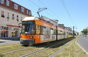 Albertinenstraße lijnM4 GT6N