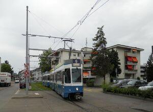Schwamendingerplatz lijn9 Tram2000