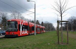 Lipsiusstraße lijn1 NGT6DD