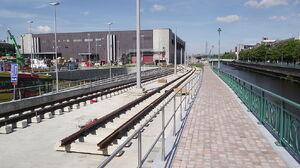 Charleroi station tramring 1