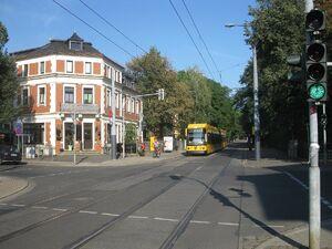 Meußlitzer Straße lijn2 NGT8DD 2