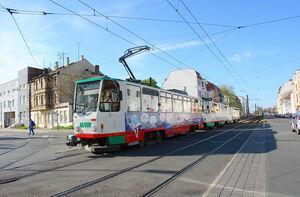 Tatra T6A2 lijn 1 Magdeburg