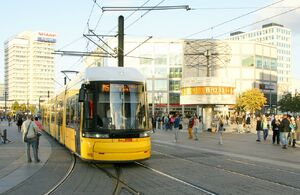 Alexanderplatz lijnM5 Flexity