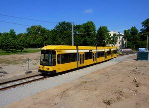 Zillerstraße lijn4 NGT6DD