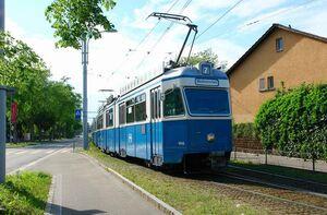 Bahnhof Stettbach lijn7 Mirage