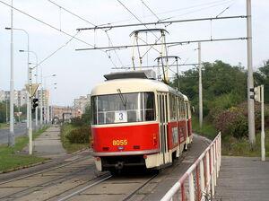 U Libušského potoka lijn3 T3M