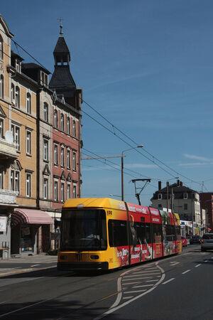 Bünaustraße lijn12 NGT6DD