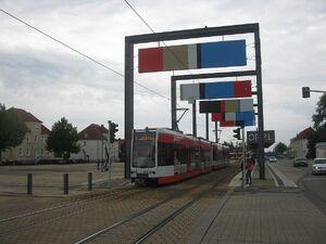 Am Haupttor lijn5 MGT-K