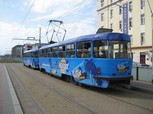 Nádraží Libeň lijn3 T3RP