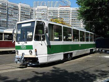 Tatra T7B5 Moskau