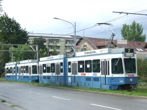 Mattenhof lijn7 Tram2000