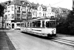 Schulstraße lijn305 GT6 2