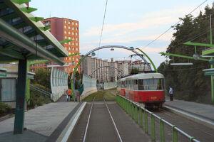 Poliklinika Barrandov lijn20 T3