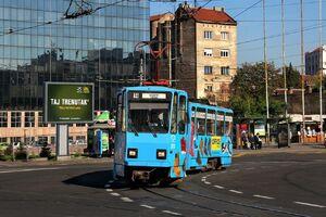 Trg Slavija lijn14 KT4YU