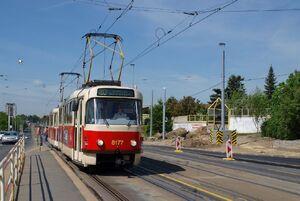 Nádraží Veleslavín lijn20 T3M