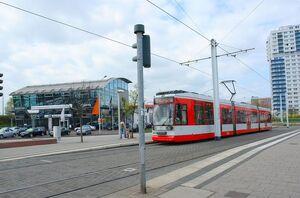 Rennbahnkreuz lijn10 MGT6D