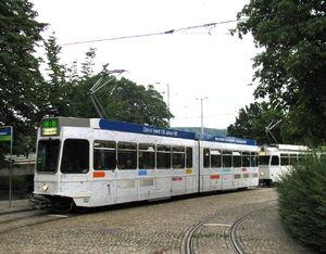 Hardplatz lijn8 Tram2000 2