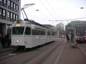 Bahnhof Selnau lijn8 Mirage