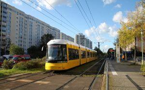 Prerower Platz lijnM4 Flexity