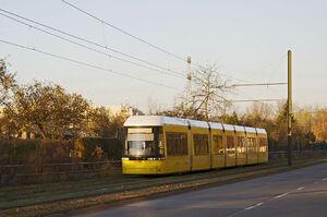 Anna-Ebermann-Straße lijnM5 Flexity