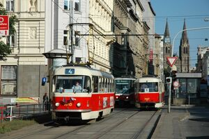 Náměstí I.P.Pavlova lijn4 T3SU