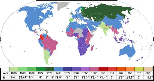 Rail gauge world