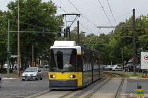 Mahlsdorfer Straße Gehsener Straße lijn62 GT6N