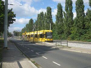 Abzweig nach Reick lijn2 NGT8DD