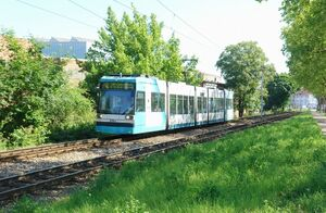 Boveristraße lijn4 MGT