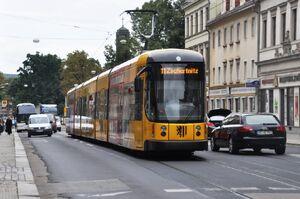 Pulsnitzer Straße lijn11 NGTD12DD