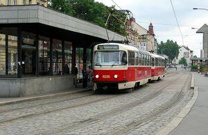 Smíchovské nádraží lijn12 T3RP