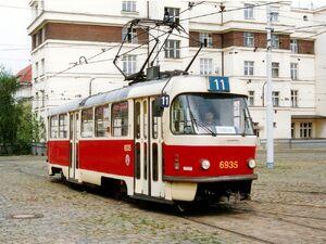 Vozovna Pankrác lijn11 T3