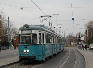 Burgstraße lijn24 GT6