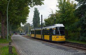 Hauptstraße Friedrich-Engels-Straße lijnM1 GT6N