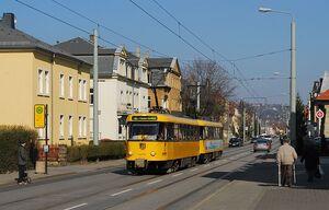 Guerickestraße lijn6 T4D