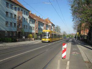 Burgkstraße lijn2 NGT8DD