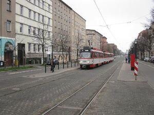 Hegelstraße lijn3 T4D