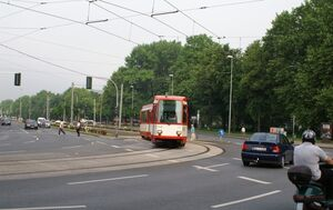 Kennedyplatz lijn302 M