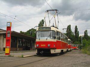 Sídliště Ďáblice lijn24 T3RP