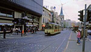 Bochum Rathaus lijn305 GT6