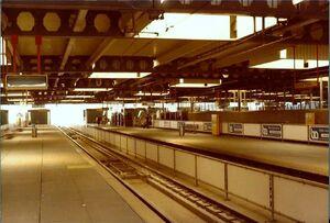 Tramplatform CS Den Haag 1979